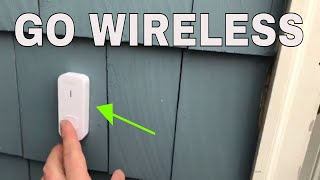 Easy To Install Wireless Doorbell