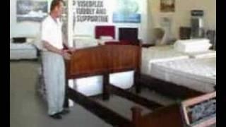 Slat Base Upholsterd Beds