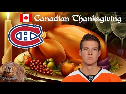 Steve Mason Out Thanksgiving in Canada Habs Win!