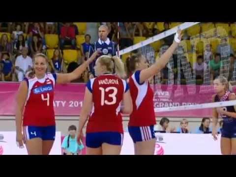 140725 World Grand Prix P Croatia - Czech Republic