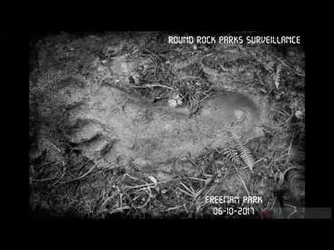 Bigfoot Prints Found in Round Rock Park TX