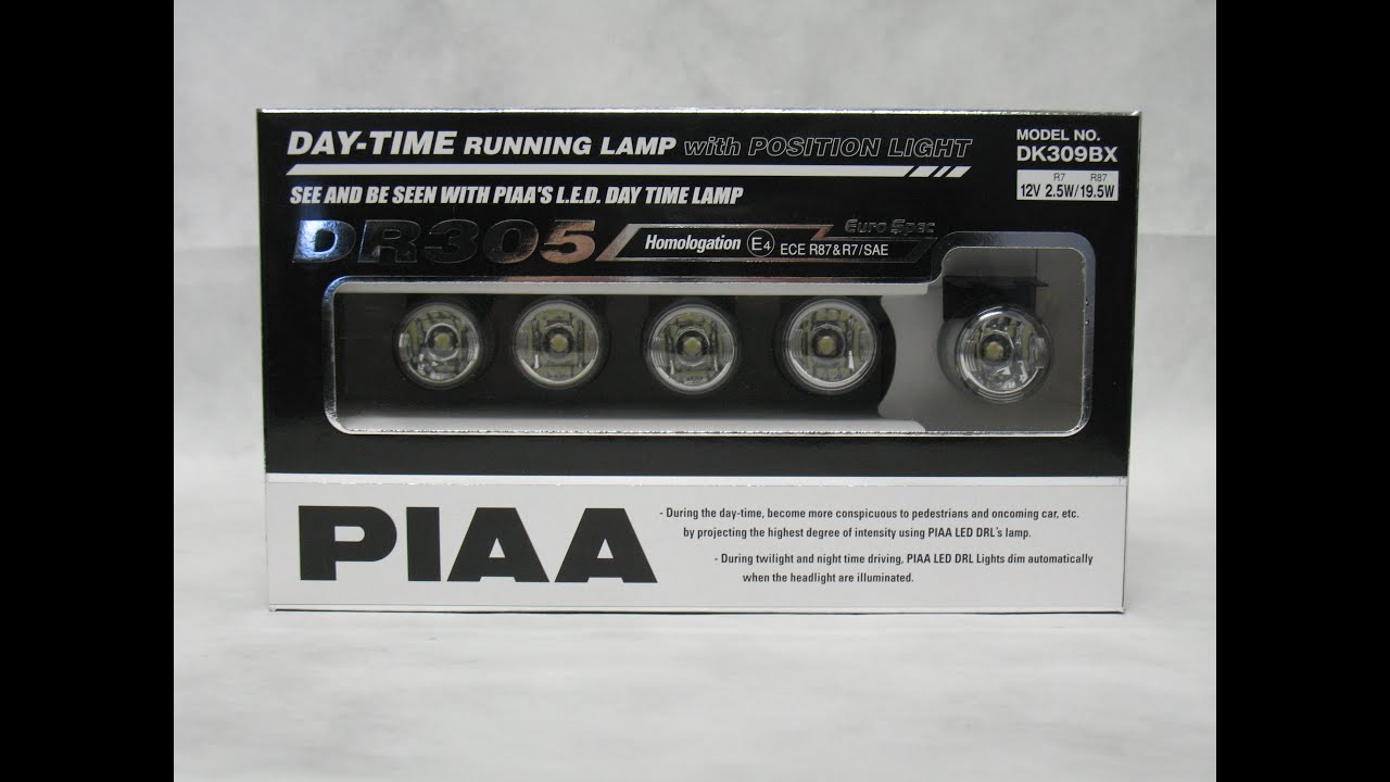 maxresdefault piaa 6000k led daytime running lights 10 lamp module kit dr305 Chevy Wiring Harness at mifinder.co
