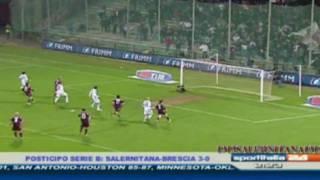 SALERNITANA - Brescia 3-0 RIGORE PARATO BERNI 3-0