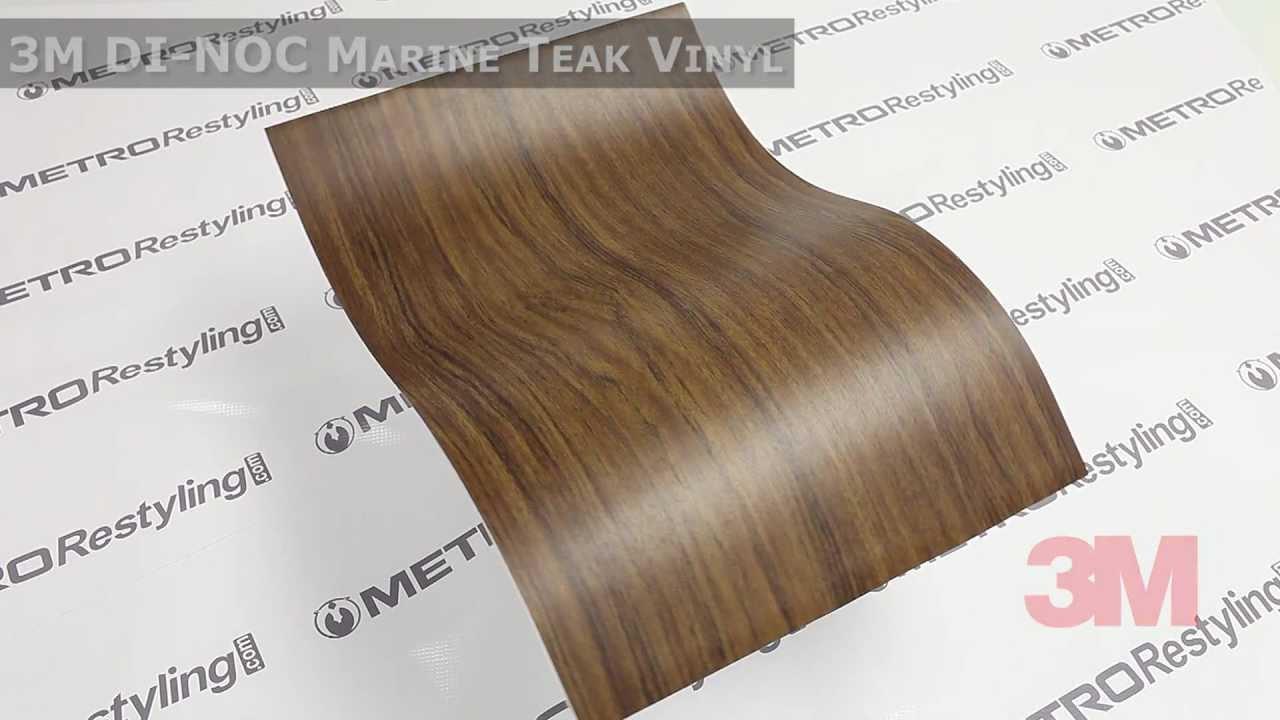 3m Dinoc Marine Teak Wood Vinyl Youtube
