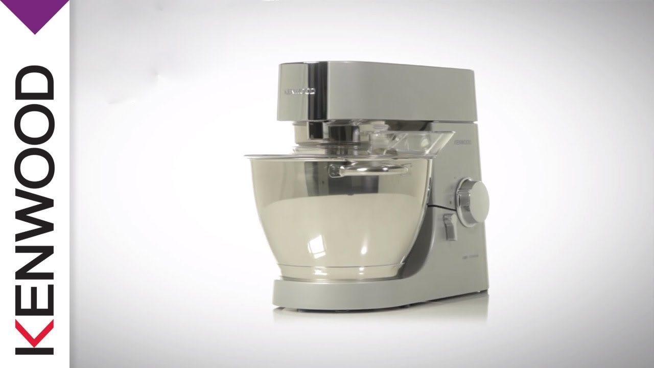 Kenwood Chef Titanium Kitchen Machine Introduction Youtube