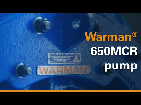 Animation: Warman® 650MCR centrifugal slurry pump features
