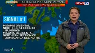 BP: Weather update as of 4:10 p.m. (February 13, 2018)