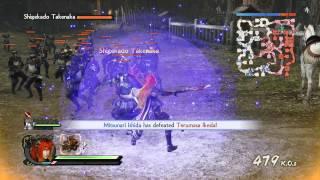 Samurai Warriors 4 - Legend of a Land United Ep 7(M) - Battle of Sekigahara (Eastern Army)