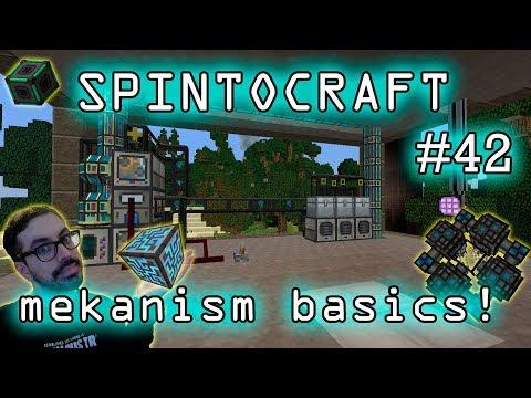 MINECRAFT MODS ITA SPINTOCRAFT#42 mekanism ready