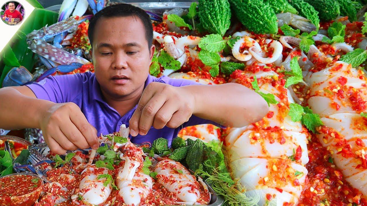 หมึกหอมแช่น้ำปลาแกล้มมะระขี้นกกรอบๆ ขมอ่ำหล่ำ แซ่บสุดยอดคักอิหลีคือเก่า