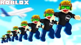 I CAN TOUCH THE SKY! ROBLOX ULTRA JUMPING SIMULATOR