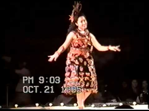 Miss South Pacific 1995 - Maata Moungaloa (Tauolunga)