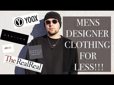 TOP 5 WEBSITES For Cheap Men's Designer Clothes