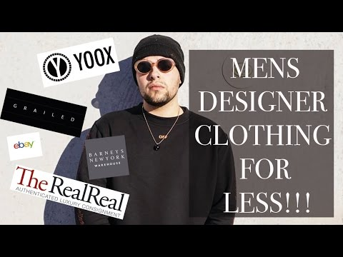 TOP 5 WEBSITES For Cheap Men's Designer Clothes