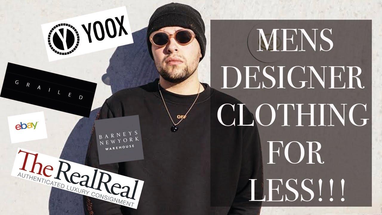 Cheap Men Designer Clothing   Top 5 Websites For Cheap Men S Designer Clothes Youtube