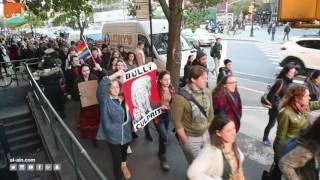 غرفة الأخبارسياسة  تظاهرات مناهضة لترامب في نيويورك وميامي ولوس أنجلوس