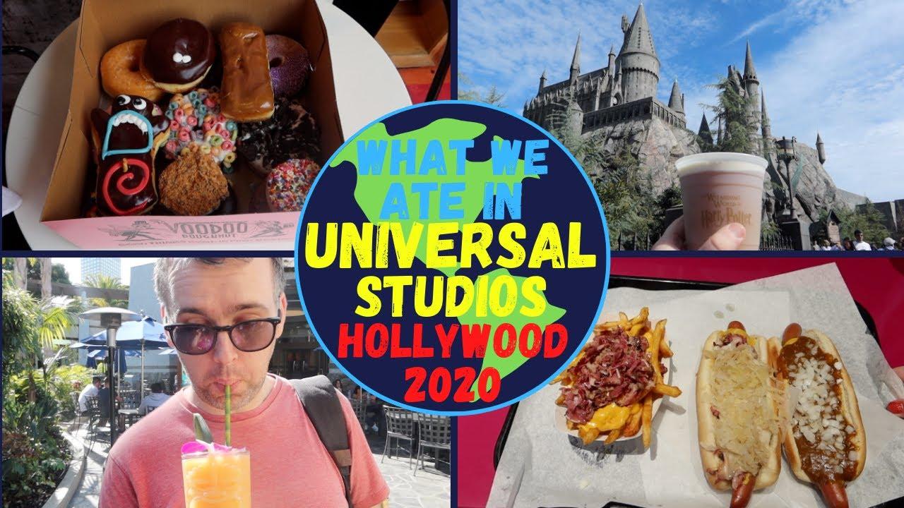 What We Ate in Universal Studios Hollywood March 2020 | KrispySmore