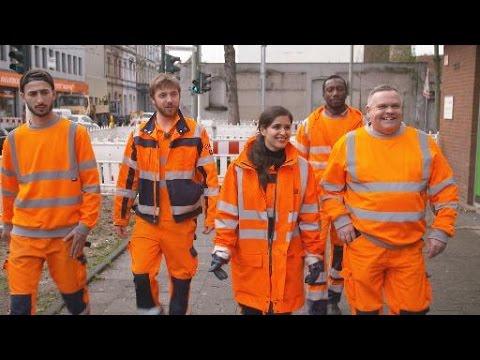 Wir lieben Euren Müll! Donya unterwegs mit den Jungs der Krefelder Müllabfuhr   WDR