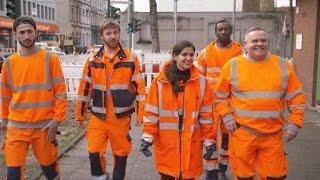 Wir lieben Euren Müll! Donya unterwegs mit den Jungs der Krefelder Müllabfuhr | WDR