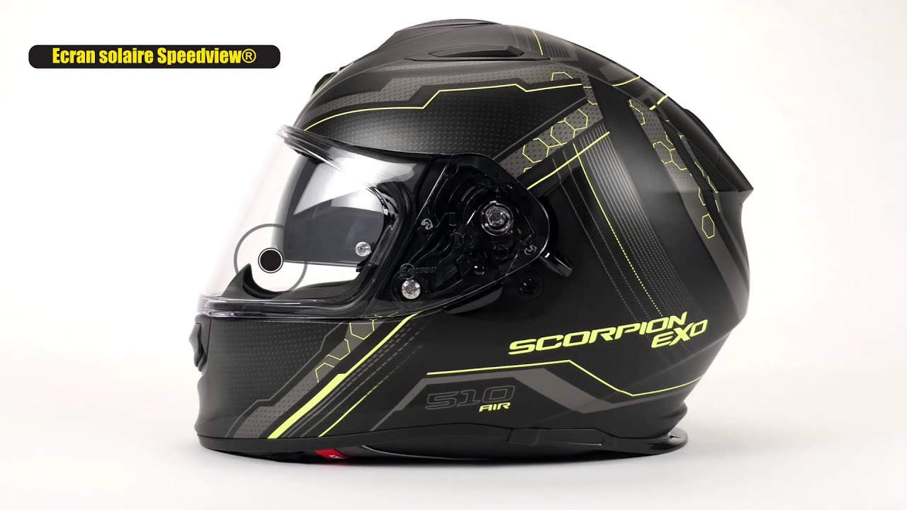 Casque Scorpion Exo 510 Air Youtube