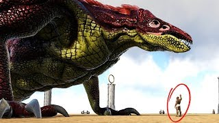 IT'S THE BIG ONE! .. New Skull Crawler & Raptor Play As Dino Gamemode! - Ark Survival Evolved