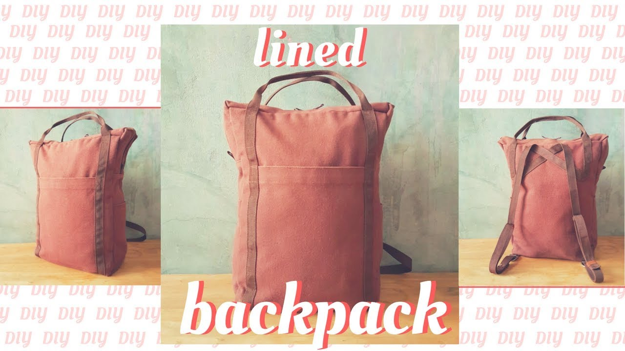 How to sew a backpack Easy 24