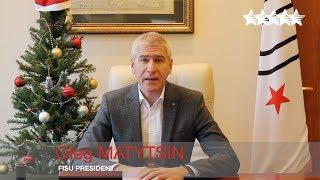 Best wishes for 2018 from FISU President Oleg Matytsin