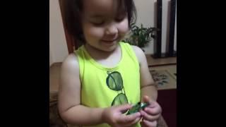 Малышка хочет говорить на казахском языке