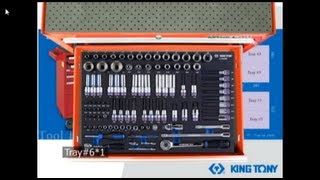 KINGTONY_[TOOL STORAGE]_ Tools set with EVA tray
