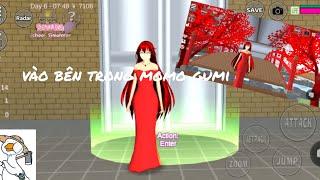 Sakura school simulator 🌸 cách vào bên trong momo gumi