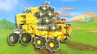 CRAFTING BATTLE VEHICLES! - TerraTech Gameplay #1 - Survival Building Game