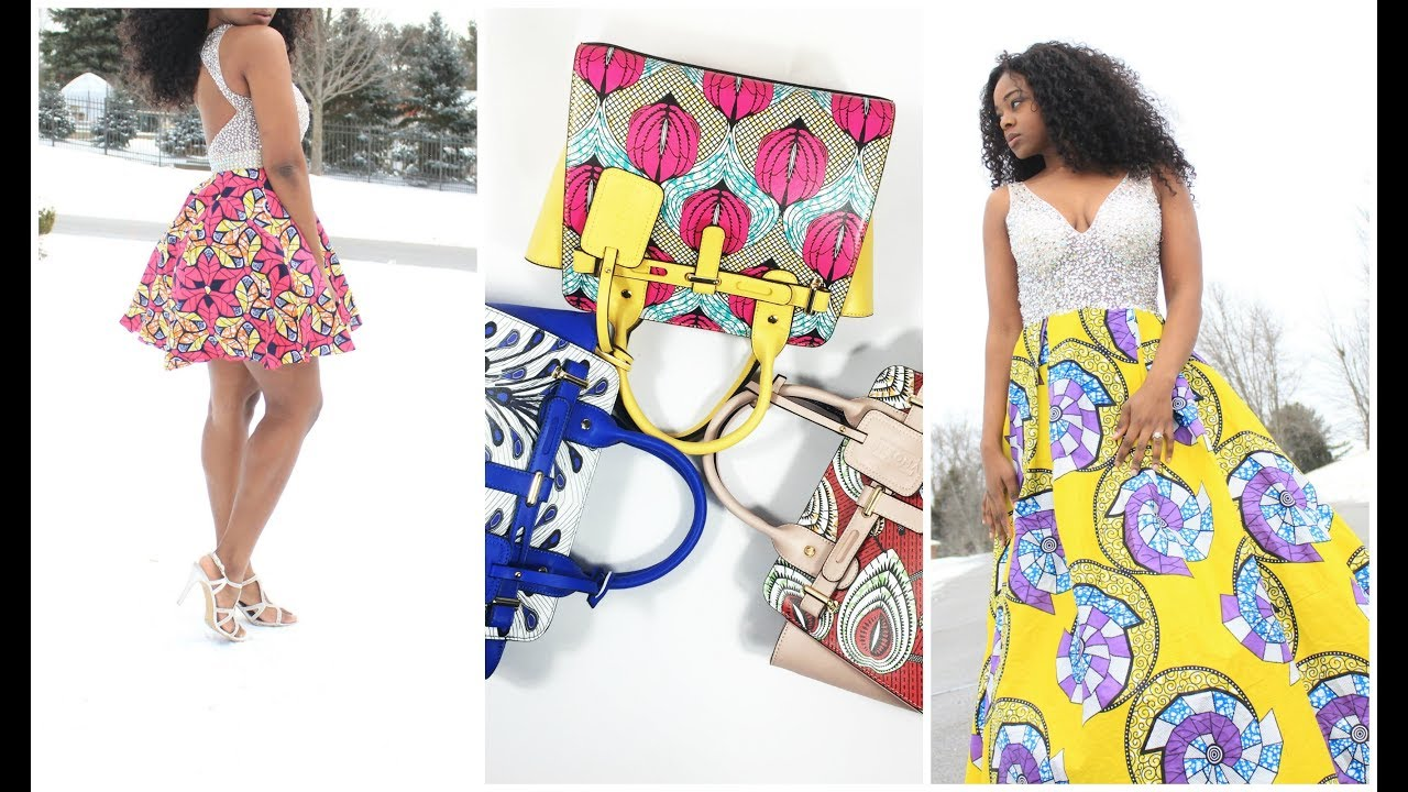 NEW ITEMS ON NKEOMA.COM! AFRICAN PRINT HANDBAGS & EVENING GOWNS ...