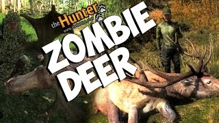 The Zombie Deer - theHunter 2014  PC Gameplay w/Tyke & Leeroy