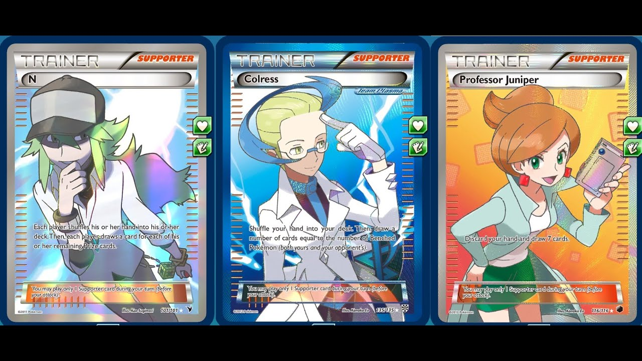 (XY Standard) How to create Decks for the Pokemon Trading ...