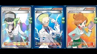 (XY Standard) How to create Decks for the Pokemon Trading Card Game