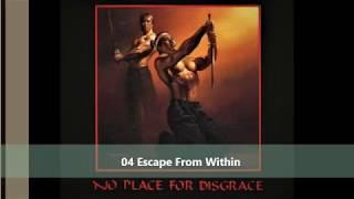 Flotsam and Jetsam   No place for disgrace full album 1988