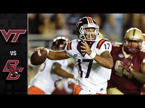 Virginia Tech vs. Boston College Football Highlights (2017)