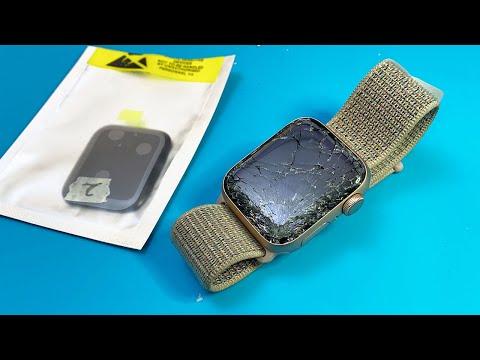 Restoration destroyed Apple watch series 4   Repair LCD