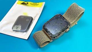 Restoration Destroyed Apple Watch Series 4 | Repair LCD