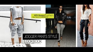 Jogger Pants | How to Style | Lookbook
