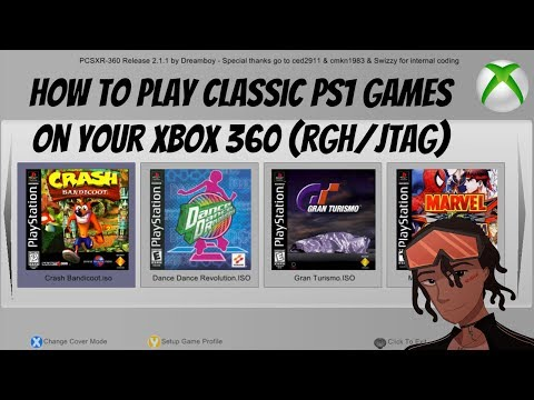 How To Play Classic PS1 Games On Your XBOX 360 RGH/JTAG (Episode 7) - PCSXR-360 2.1.1 #PS1 #JTAG
