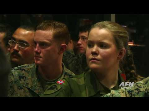 USMC Norway:  Marine Ball 2016