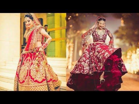 85be1e7bd7958f Latest bridal lehenga designs 2018/19 || new designer bridal lehena choli  collection ( must watch)