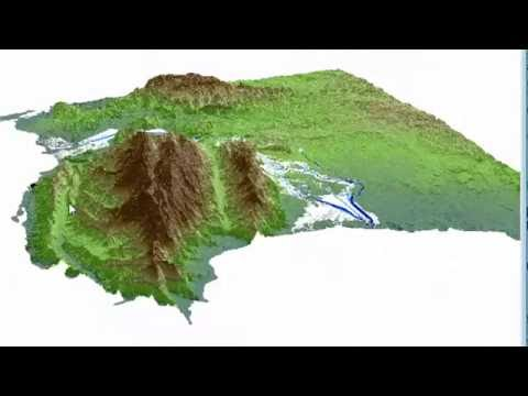 Mapping sediment flow using Landsat and DEM - SAGA GIS Tutorial
