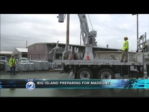 Hawaii Island braces for effects of Hurricane Madeline