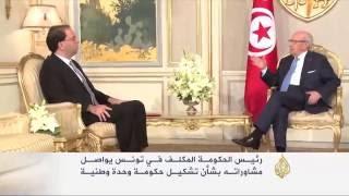 تحفظات تونسية واسعة حول حكومة الشاهد