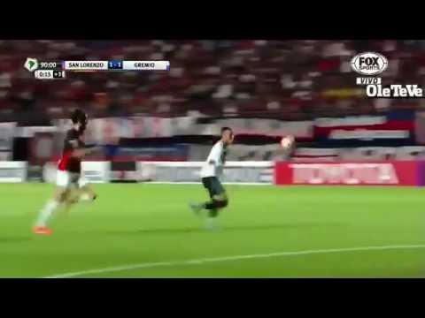 Gol Lincoln Narração Argentina San Lorenzo 1 X 1 Grêmio Libertadores da América 15.03.2016