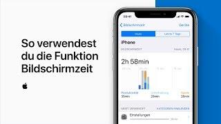 So verwendest du die Funktion Bildschirmzeit — Apple Support