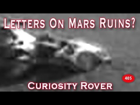 More Letters & Numbers Found On Mars Ruins?