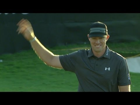 Hunter Mahan drains 55-foot putt for Shot of the Day
